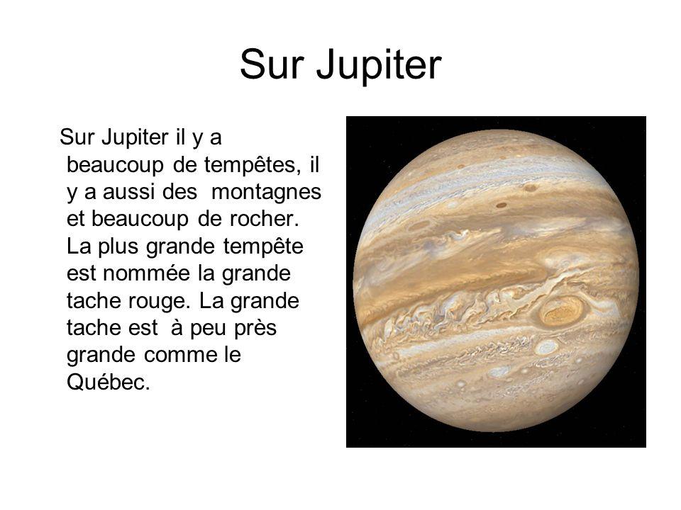 Sur Jupiter