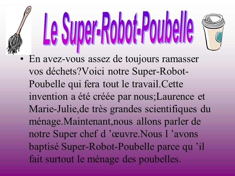Le Super-Robot-Poubelle