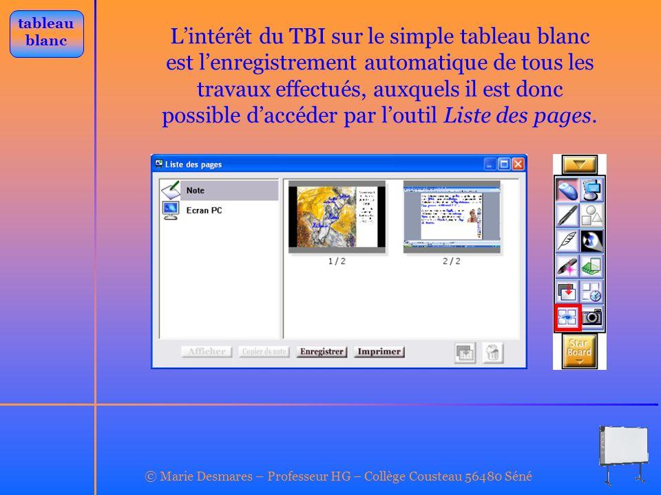 © Marie Desmares – Professeur HG – Collège Cousteau 56480 Séné