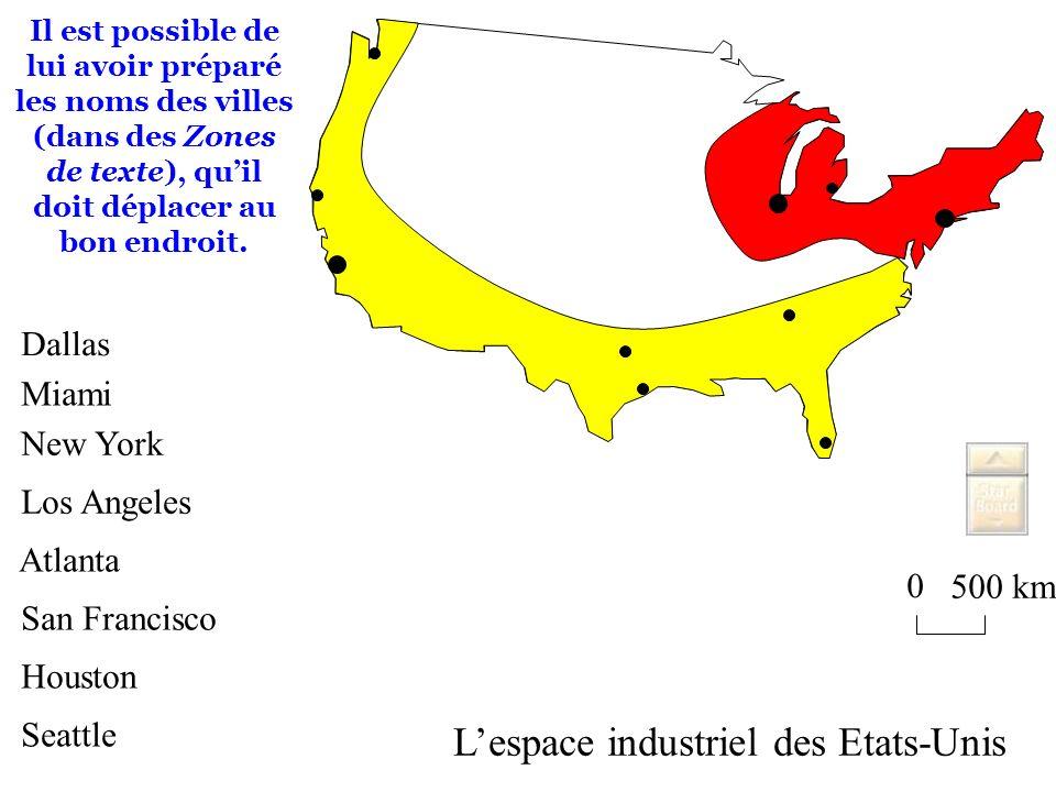 L'espace industriel des Etats-Unis