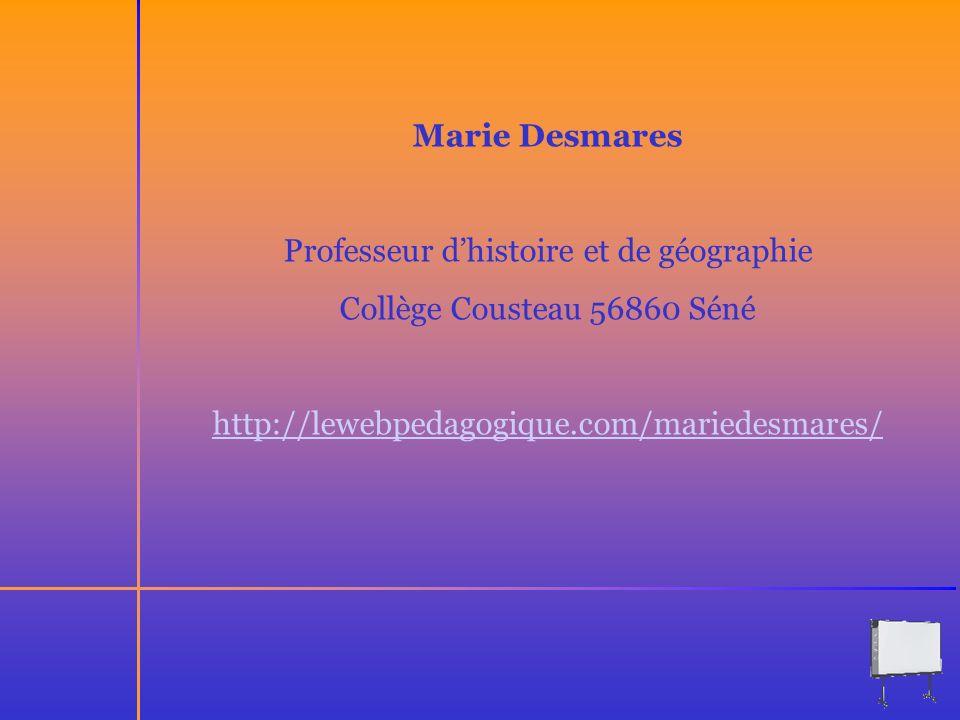 Professeur d'histoire et de géographie