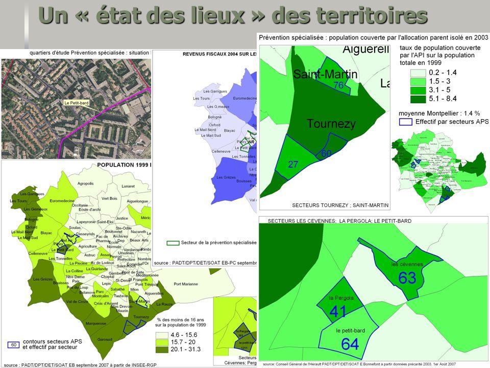 Un « état des lieux » des territoires