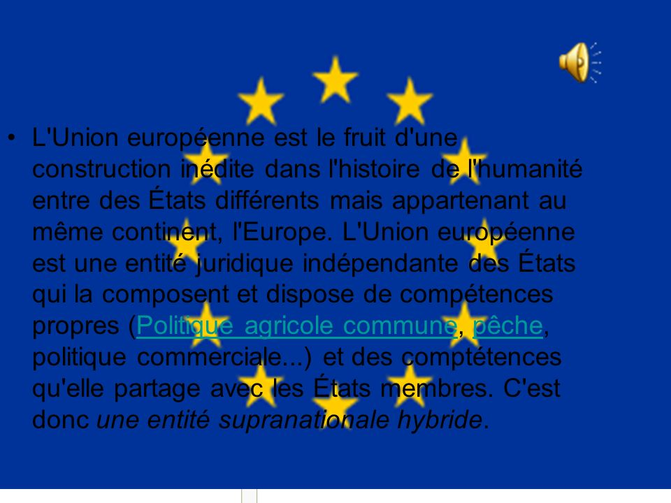 Union européenne (*)