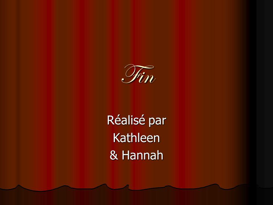 Fin Réalisé par Kathleen & Hannah Le Château Blois Coooooooool !