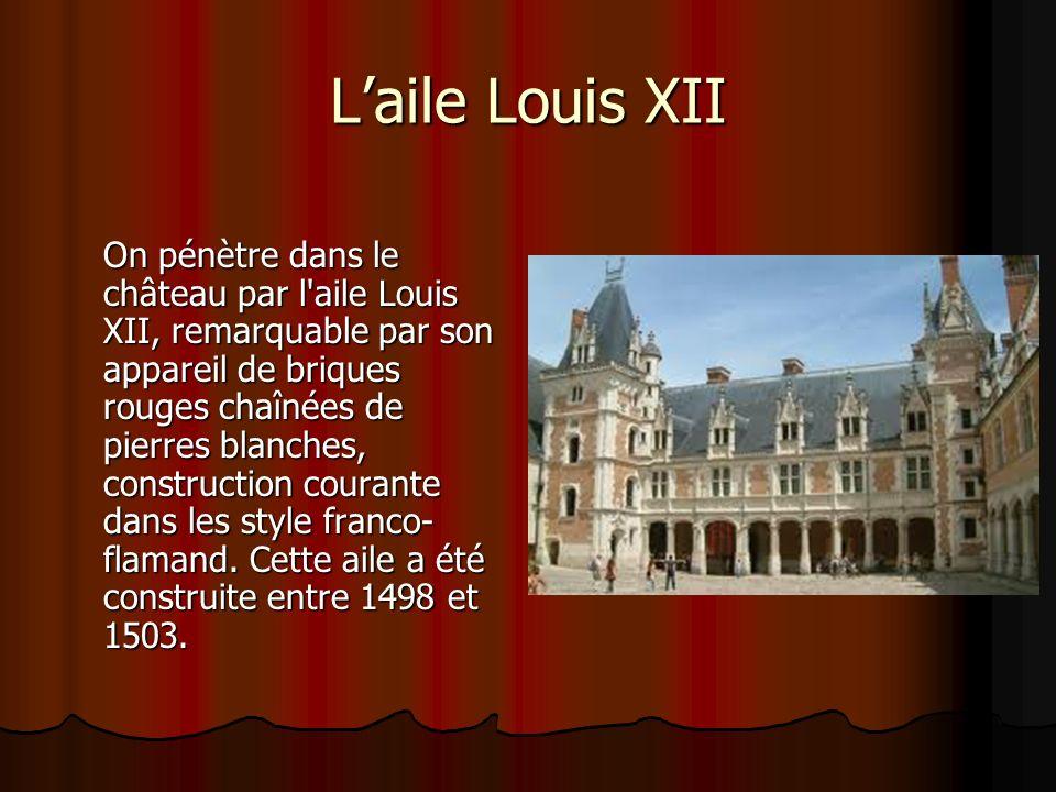 L'aile Louis XII