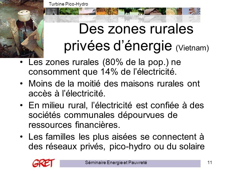 Des zones rurales privées d'énergie (Vietnam)