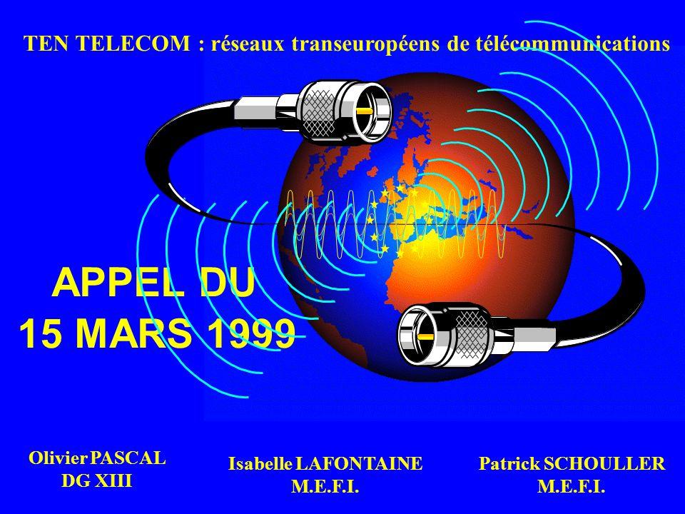 TEN TELECOM : réseaux transeuropéens de télécommunications