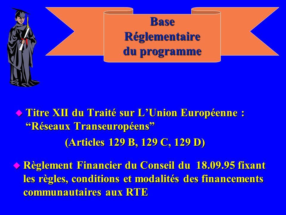 Base Réglementaire du programme