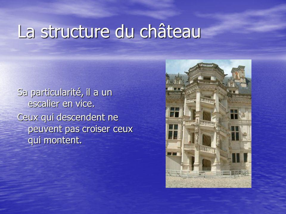 La structure du château