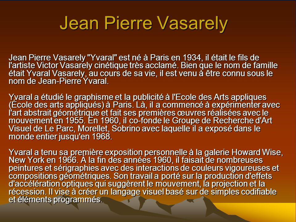 Jean Pierre Vasarely