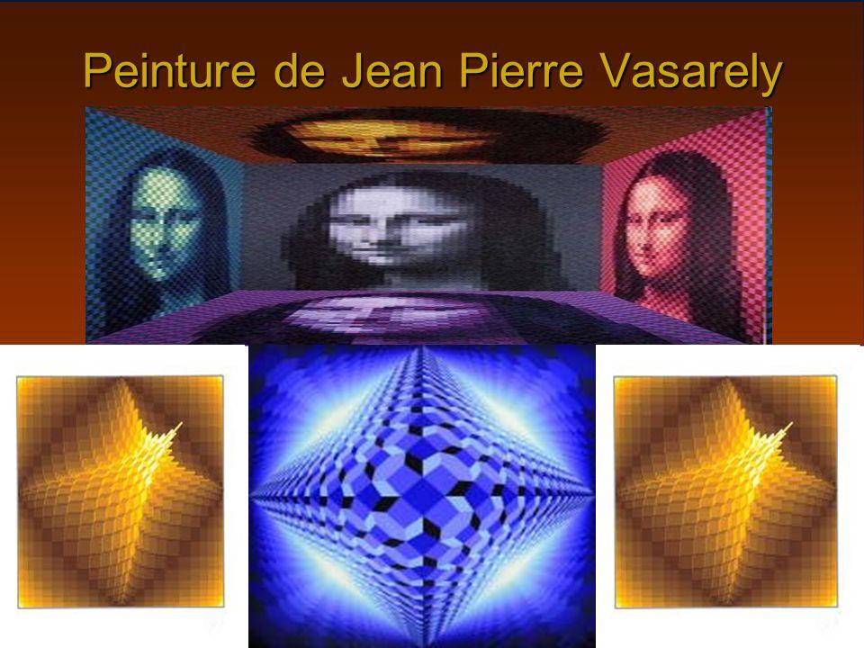 Peinture de Jean Pierre Vasarely