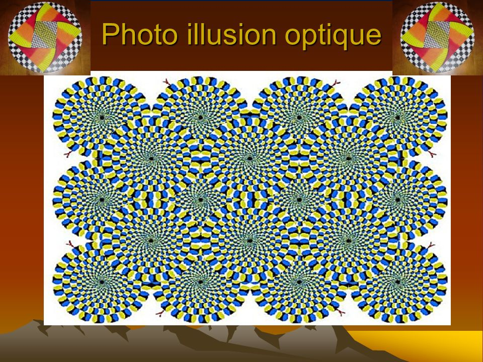 Photo illusion optique