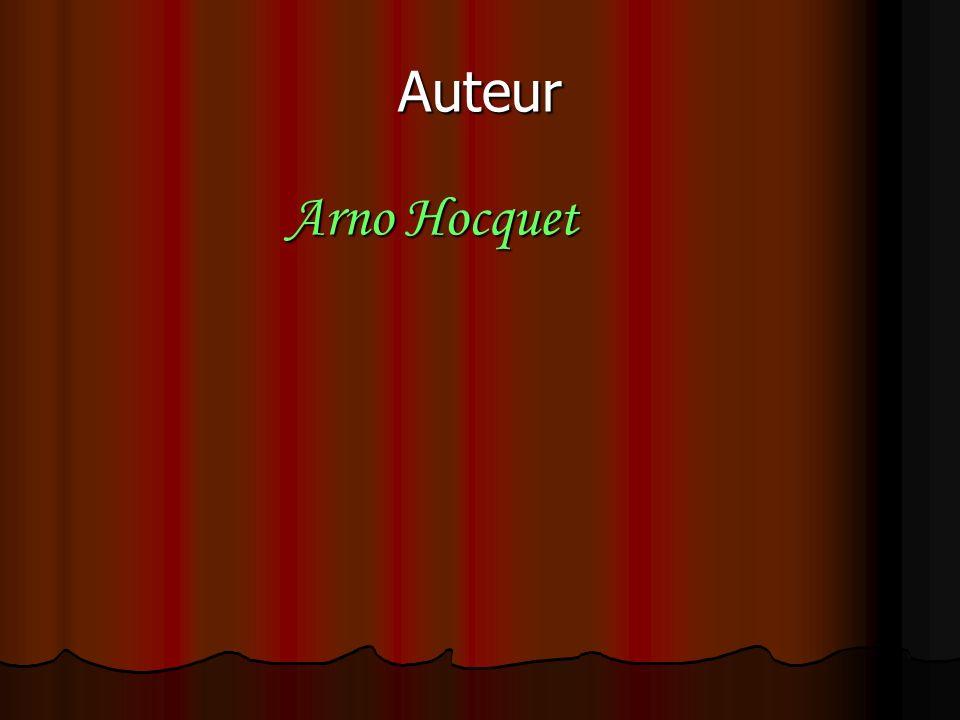Auteur Arno Hocquet