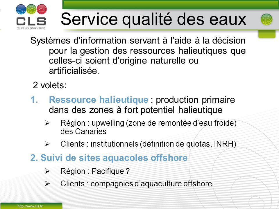Service qualité des eaux