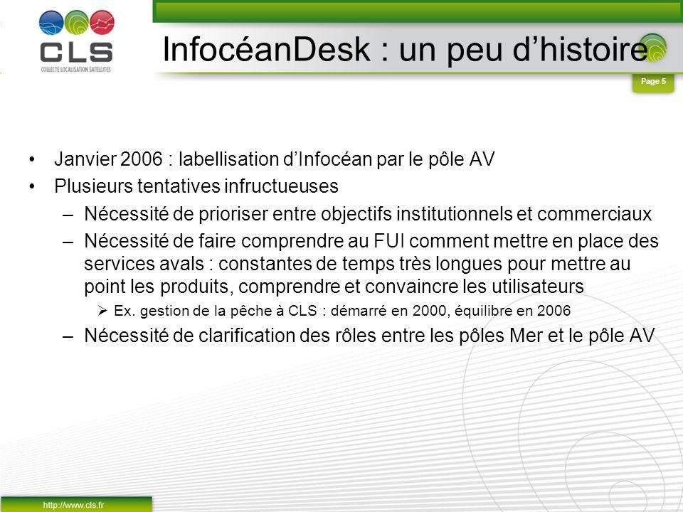 InfocéanDesk : un peu d'histoire