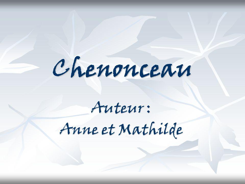 Auteur : Anne et Mathilde