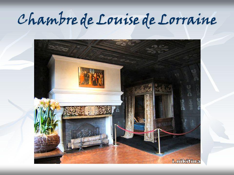 Chambre de Louise de Lorraine