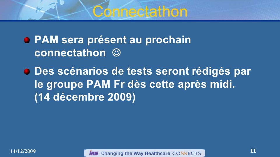 Connectathon PAM sera présent au prochain connectathon 