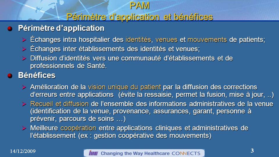 PAM Périmètre d'application et bénéfices