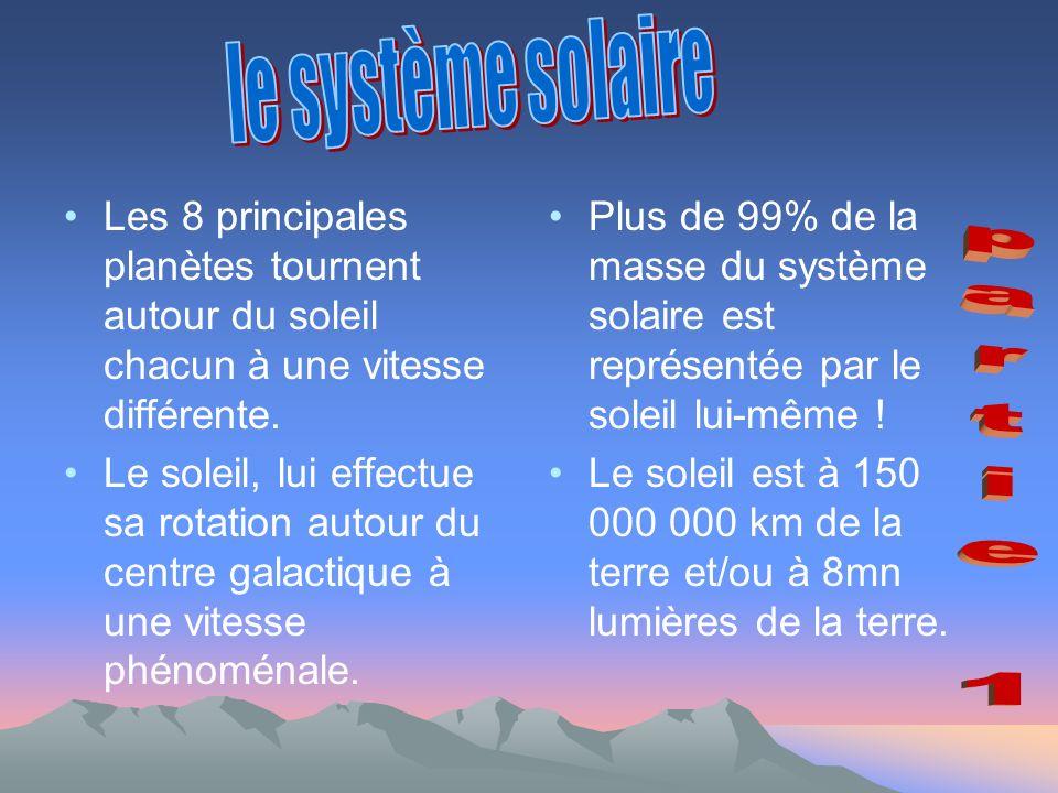 le système solaire partie 1