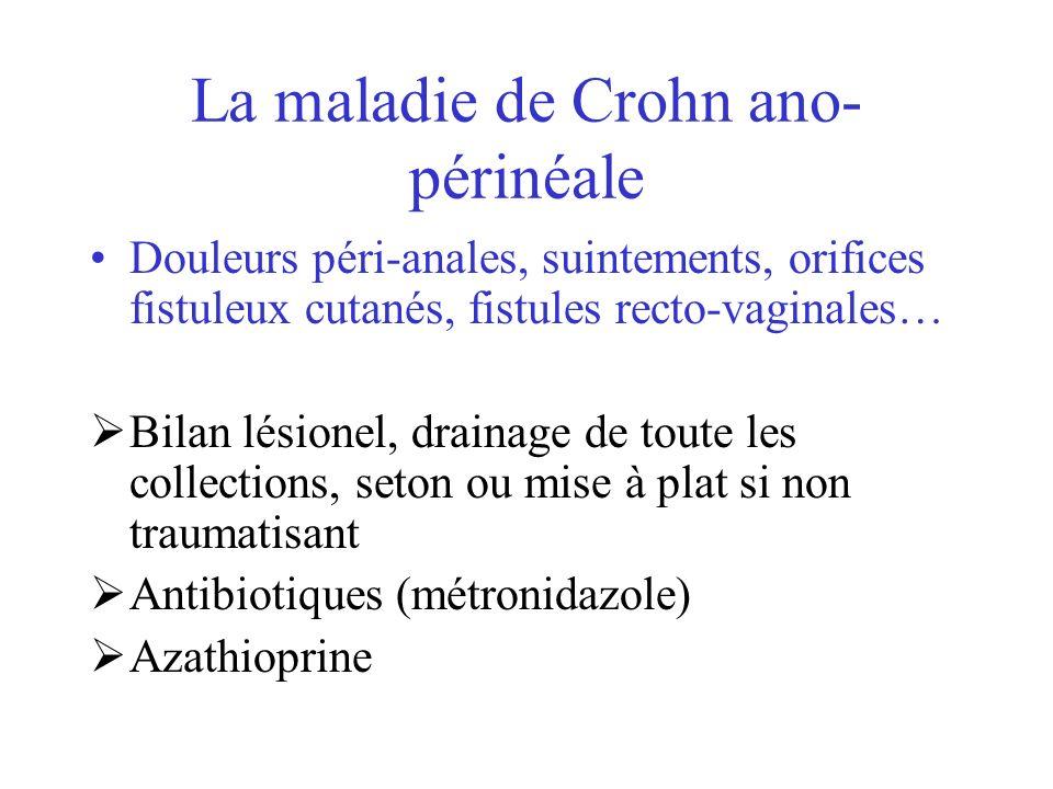 La maladie de Crohn ano-périnéale