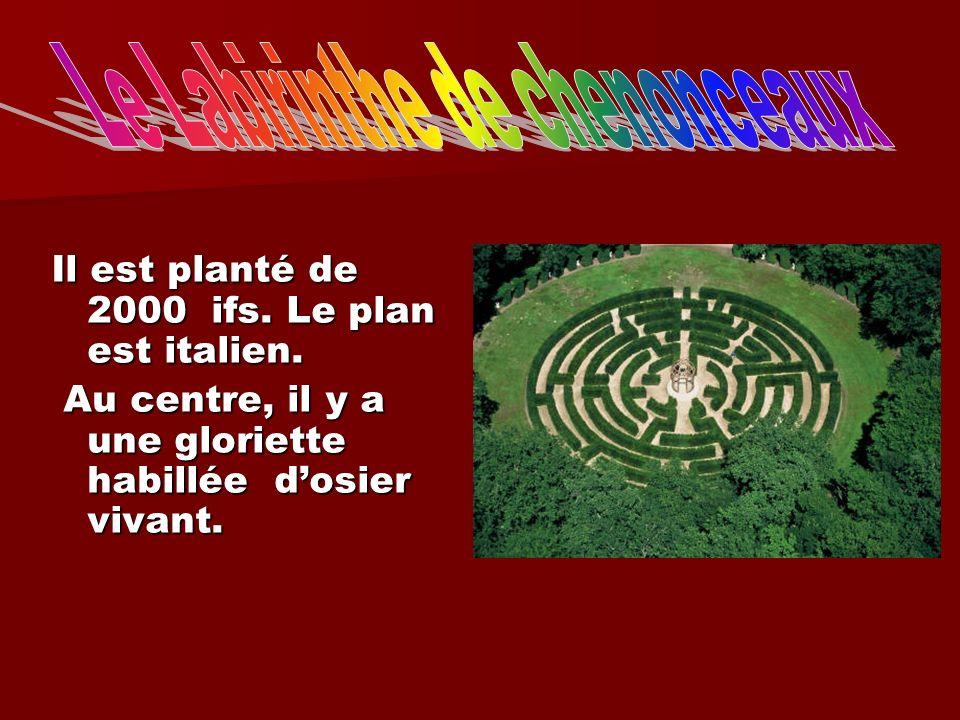 Le Labirinthe de chenonceaux