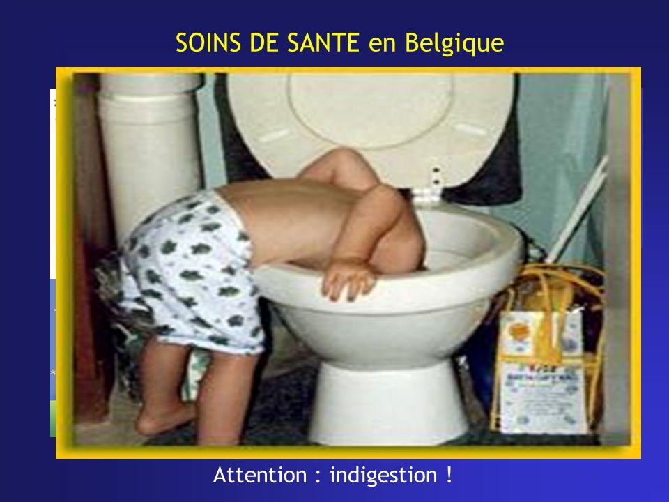 SOINS DE SANTE en Belgique