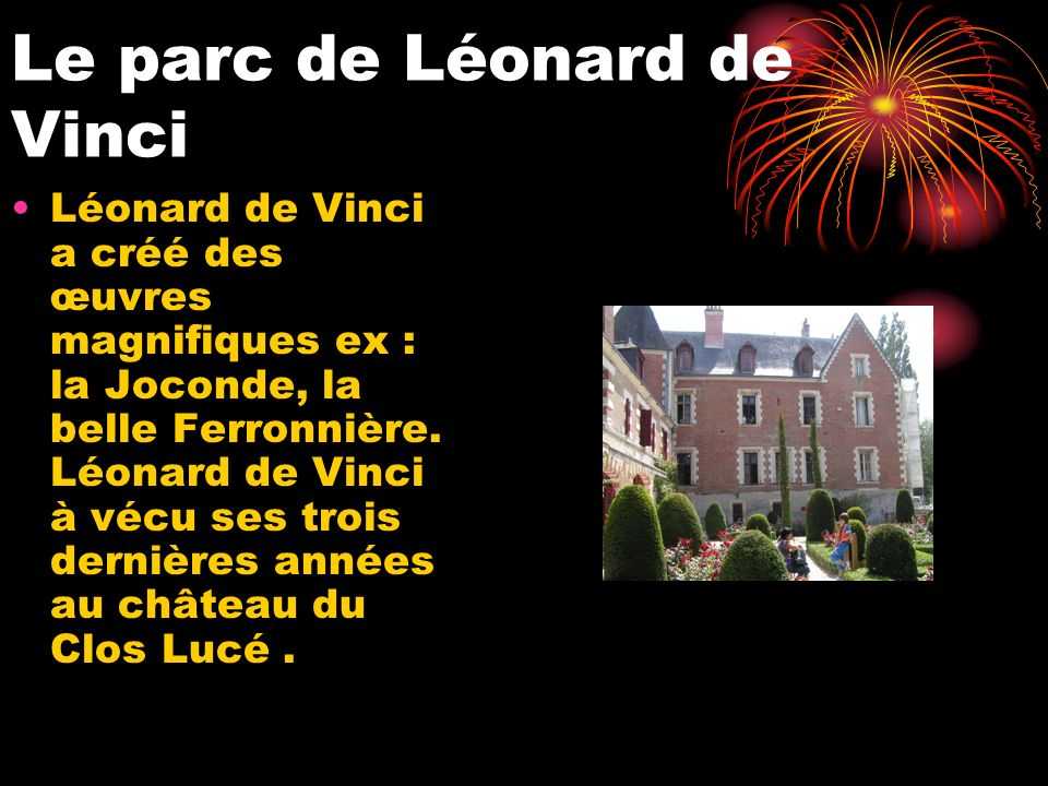 Le parc de Léonard de Vinci