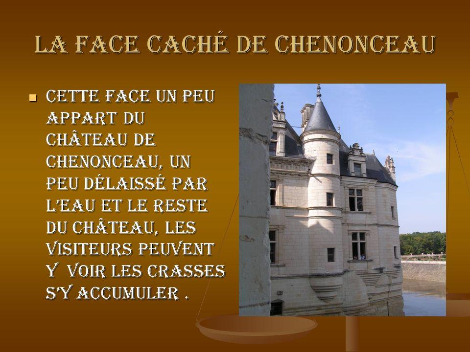 La face caché de Chenonceau