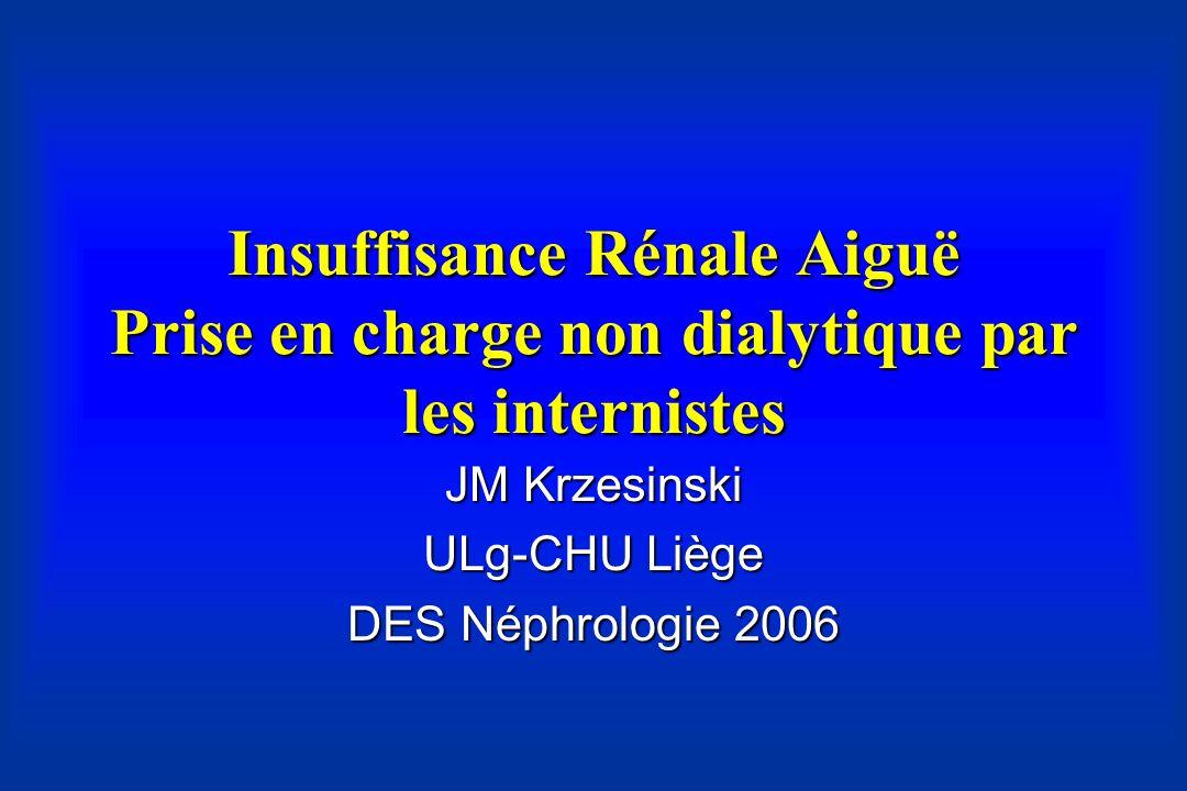 JM Krzesinski ULg-CHU Liège DES Néphrologie 2006
