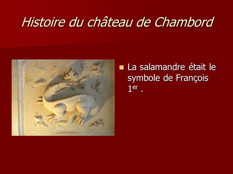 Histoire du château de Chambord