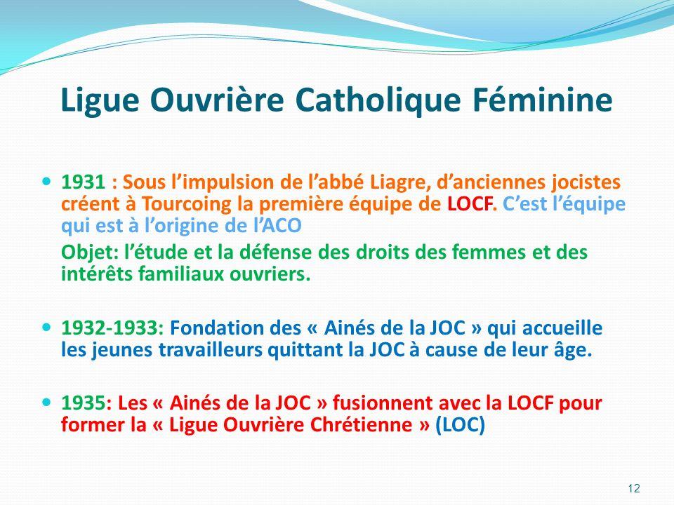 Ligue Ouvrière Catholique Féminine