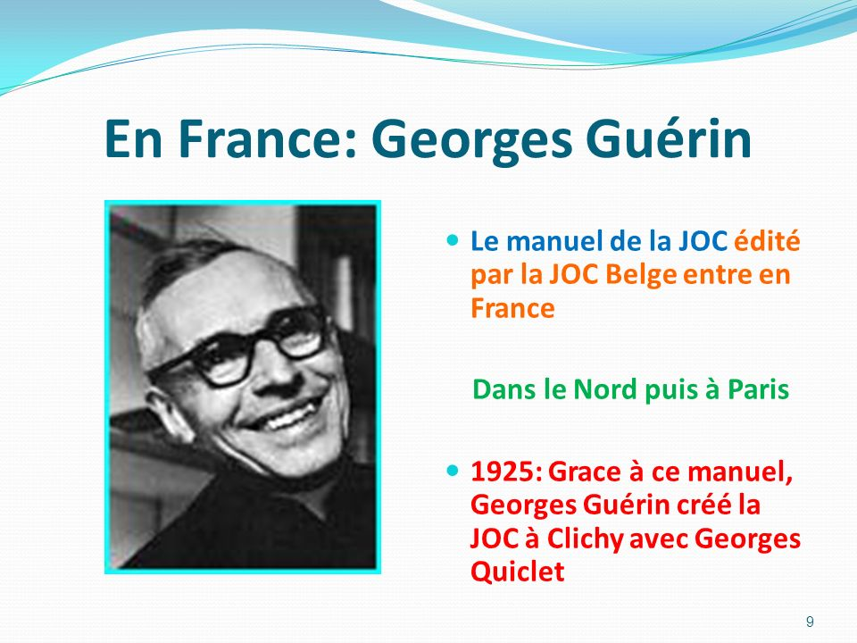 En France: Georges Guérin