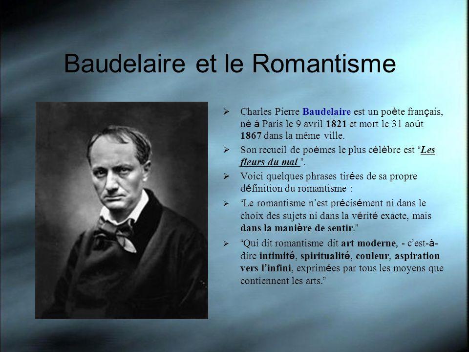 Baudelaire et le Romantisme