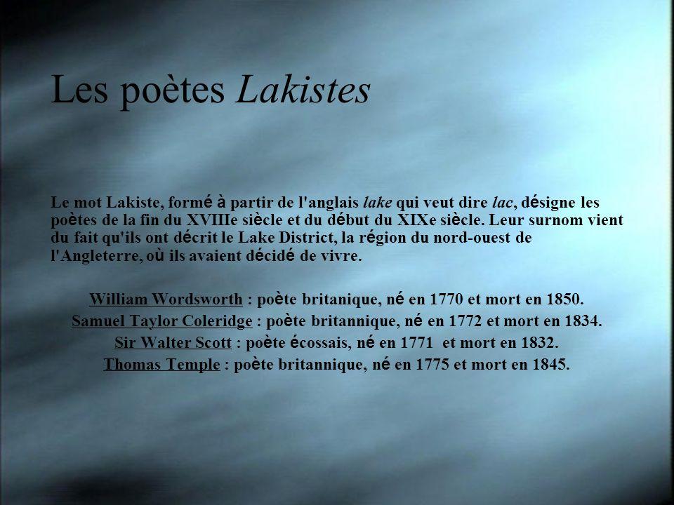 Les poètes Lakistes