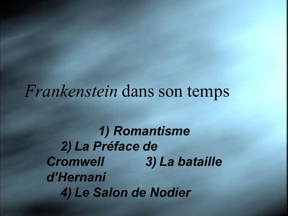 Frankenstein dans son temps