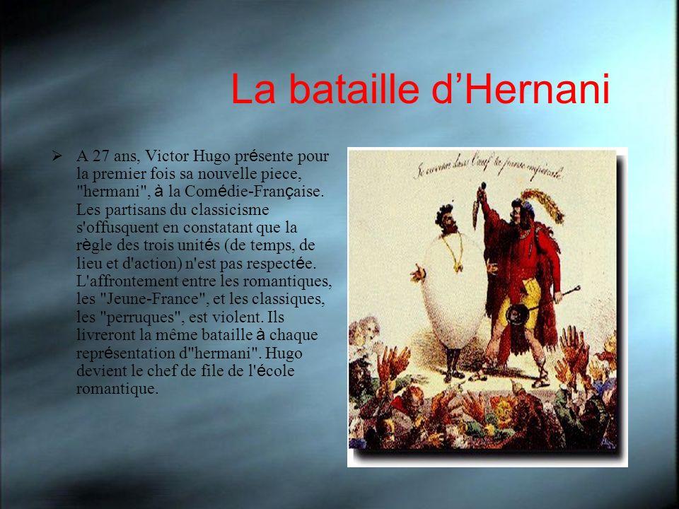 La bataille d'Hernani