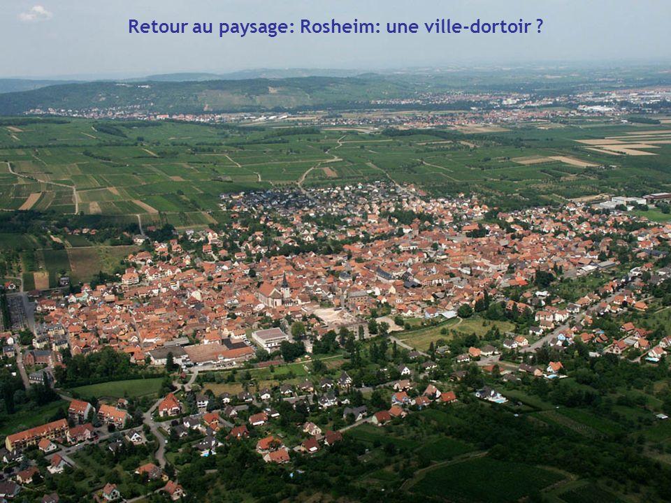 Retour au paysage: Rosheim: une ville-dortoir