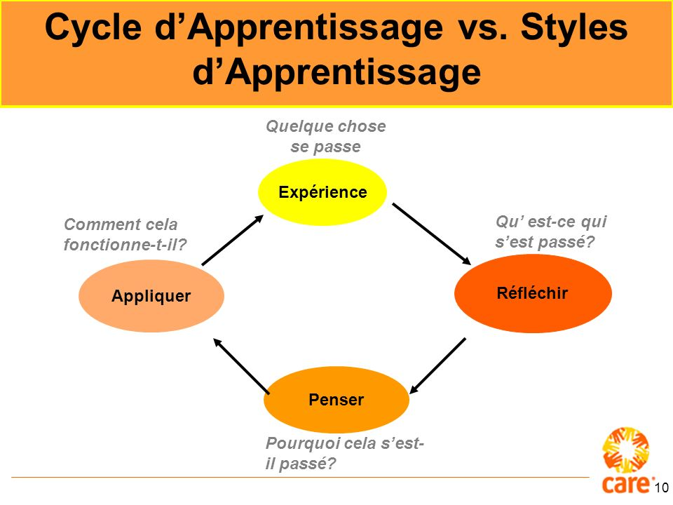 Cycle d'Apprentissage vs. Styles d'Apprentissage