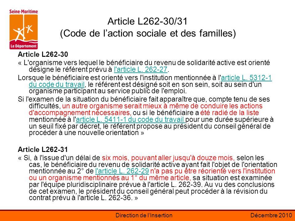 Article L262-30/31 (Code de l'action sociale et des familles)