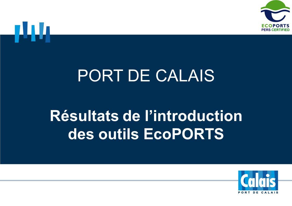 Résultats de l'introduction des outils EcoPORTS