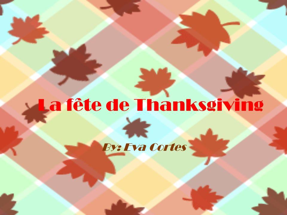 La fête de Thanksgiving