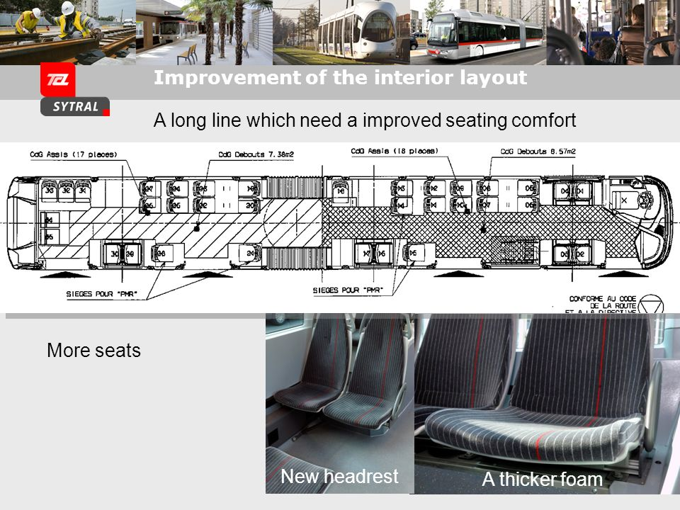 Improvement of the interior layout