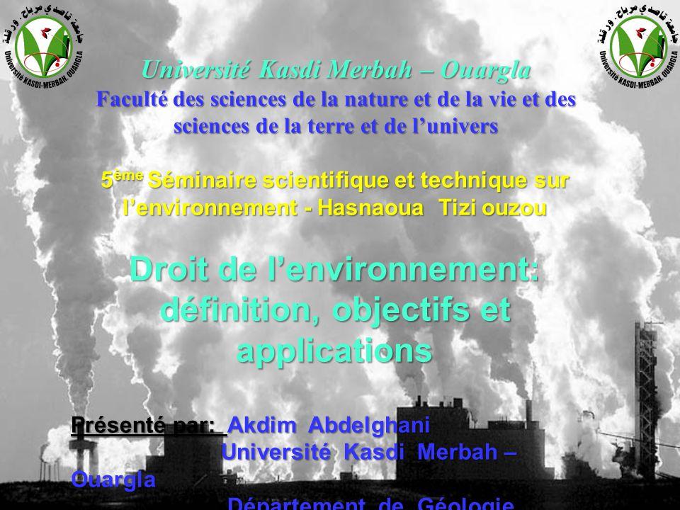 Droit de l'environnement: définition, objectifs et applications