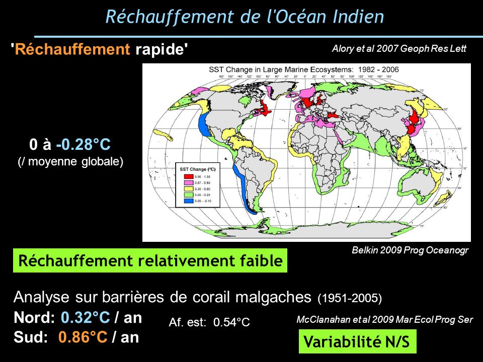 Réchauffement de l Océan Indien