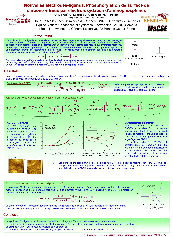 Nouvelles électrodes-ligands