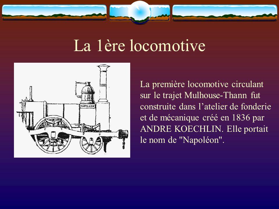 La 1ère locomotive