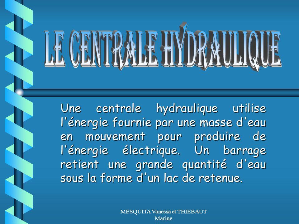 LE CENTRALE HYDRAULIQUE