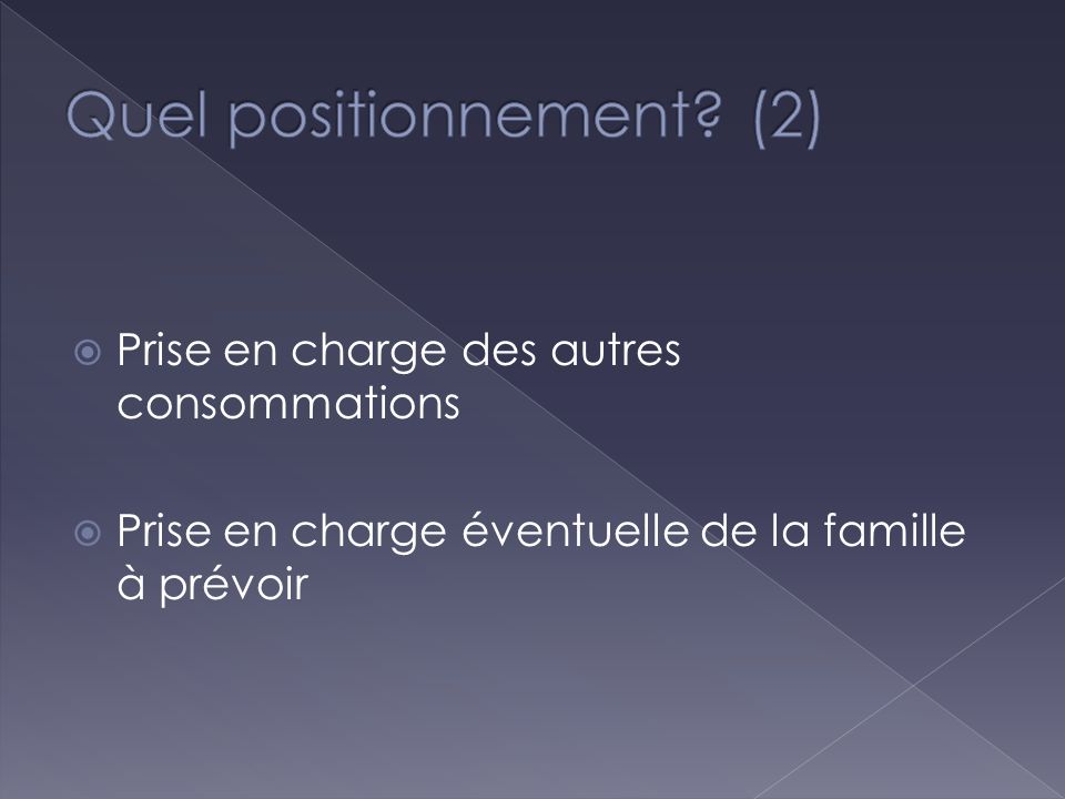 Quel positionnement (2)