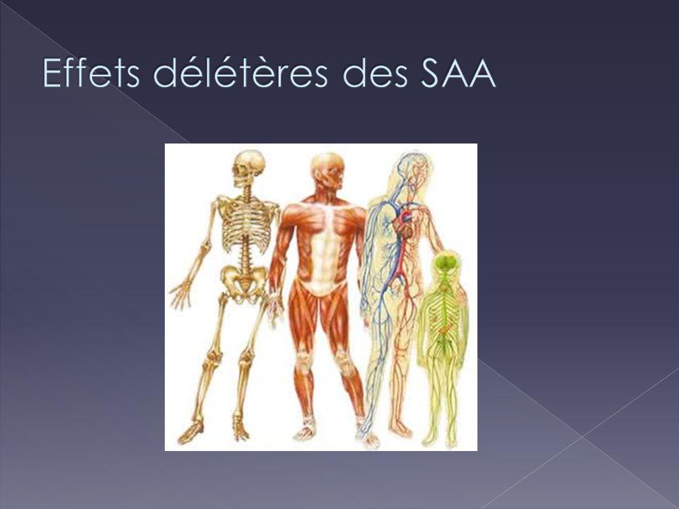 Effets délétères des SAA